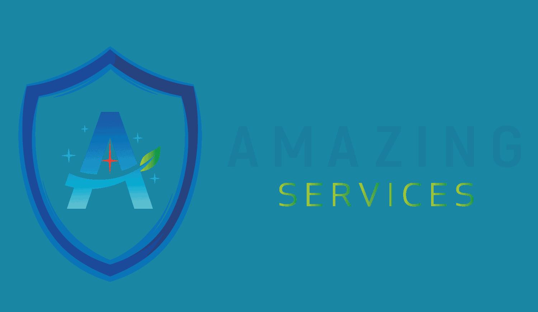 Amazing services London transparent logo