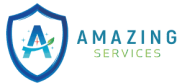 Amazing Services London official logo - transparent