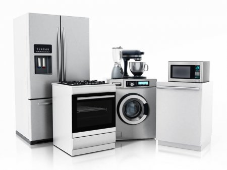 Oven and other kitchen appliances for cleaning