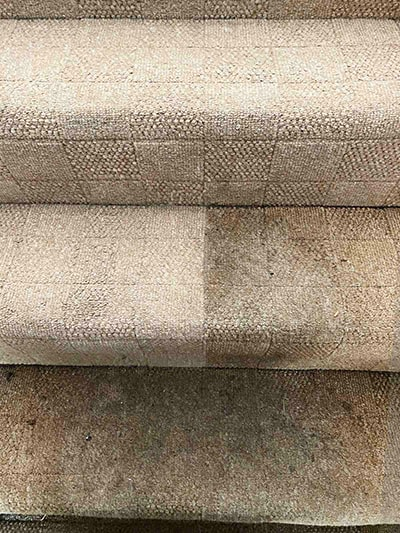 Carpet cleaning on stairs by Amazing Services London