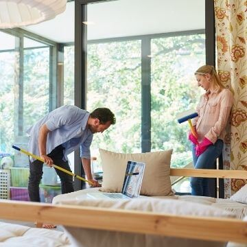 Who is responsible for end of tenancy clean